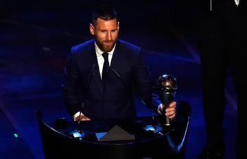 ¿Se lo merecía? Lionel Messi ganó el premio The Best