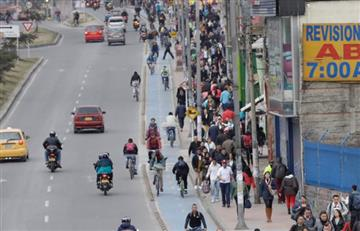 ¡Siempre el sur! Caos en Bogotá por Paro Nacional de Transportadores