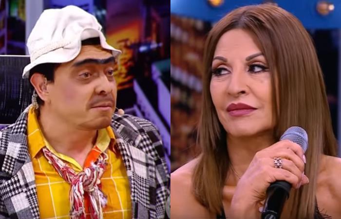 Amparo Grisales fue una de las invitadas al show de 'Suso'. Foto: Youtube
