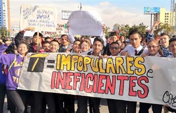 ATENCIÓN: Estudiantes del Sena se unen a Paro de Transportadores
