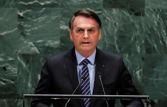 Jair Bolsonaro criticó a Venezuela y Cuba en la ONU