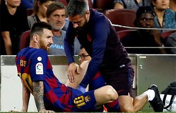 ¡Se lesionó Messi! Barcelona ganó ante Villarreal pero perdió a su máxima estrella