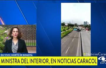 """""""Esta es una protesta ilegítima"""": Ministra del Interior afirmó que gobierno no dialogará con transportadores"""
