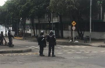 Confirman fuerte explosión en el interior de la Universidad Pedagógica