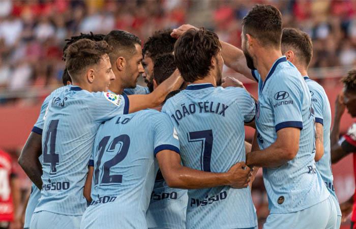 LaLiga Resultado partido goles Atlético de Madrid Mallorca Santiago Arias Cucho Hernández