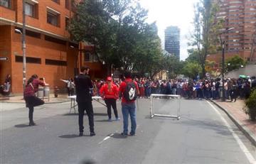 ¡Un día más! Nuevos disturbios en la Universidad Distrital