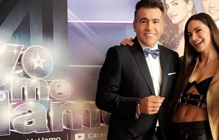 Carlos Calero y Valerie Domínguez son los presentadores de 'Yo me llamo'. Foto: Instagram