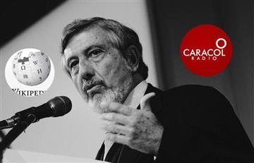 ¡El colmo! Caracol Radio plagió a Wikipedia, tras la muerte de Guillermo Perry Rubio