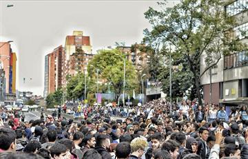 Más de diez universidades protestarían contra el Esmad en Bogotá