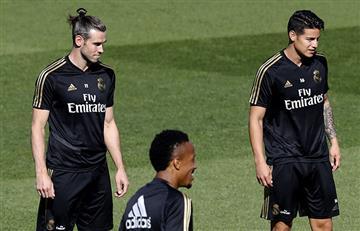 ¿Será titular? James Rodríguez entró en la convocatoria de Zidane para el choque ante Atlético de Madrid