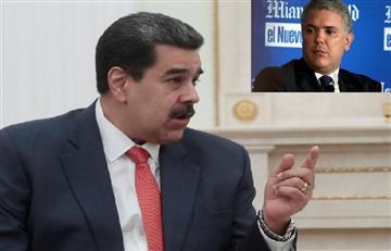 "[VIDEO] Maduro tildó de ""imbécil"" a Duque tras falsas fotos del ELN en Venezuela"