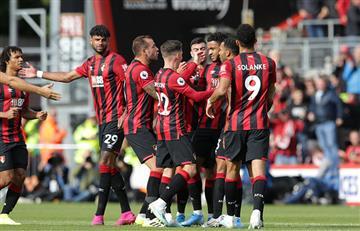 Jéfferson Lerma fue titular en el empate ente Bournemouth y West Ham