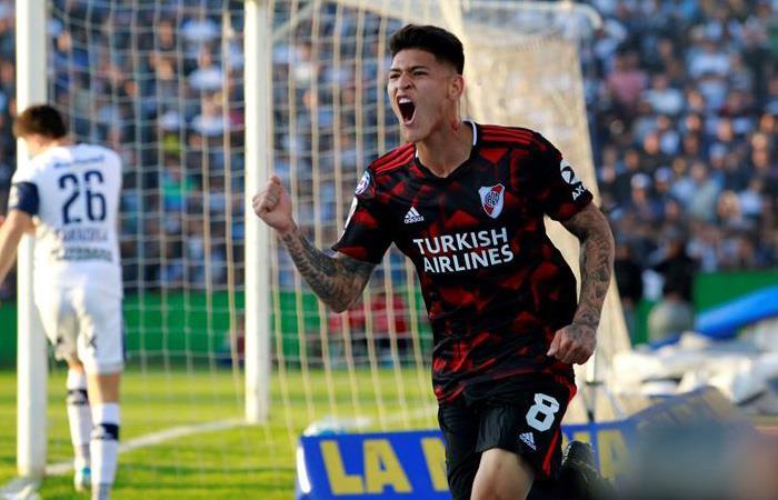 Resultado goles Gimnasia vs. River Plate Gol Jorge Carrascal Superliga Argentina