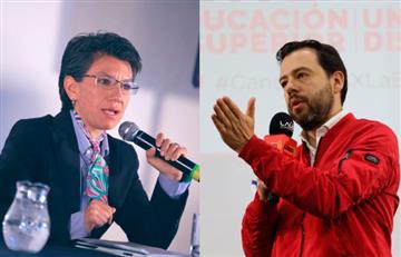 """Se caldea la carrera por la Alcaldía de Bogotá. Claudia López y Galán """"empatan"""" en nueva encuesta"""