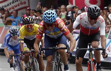 ¡Increíble! Conductor borracho atropelló a ciclista en el Clásico RCN