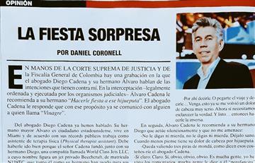 """""""La fiesta sorpresa"""": Daniel Coronell denuncia conspiración en su contra"""