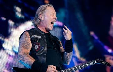 Metallica cancela conciertos por recaída de su vocalista en graves adicciones