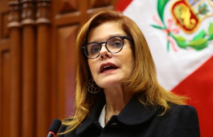 Mercedes Aráoz, presidente interina de Perú, elegida por el Congreso de este país. Foto: Twitter