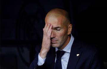 ¿Qué pasó? Zidane explicó la ausencia de James y el pésimo partido de Real Madrid en Champions