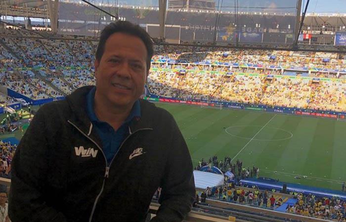 Javier Fernández se unió a Win Sports tras su salida de Caracol TV. Foto: Instagram