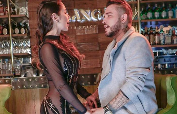 Paola Jara reveló tener miedo de cantar con Jessi Uribe