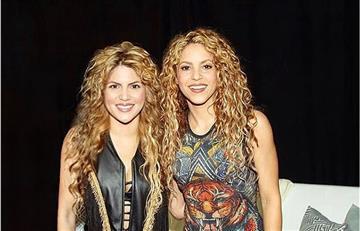 ¡Casi idénticas! 'Shakibecca', la doble de Shakira que le rinde tributo desde los 12 años
