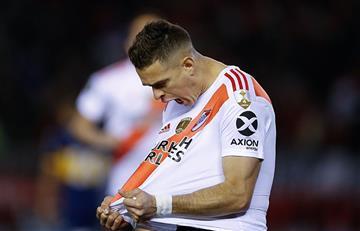 [VIDEO] ¡Héroe! Santos Borré le dio la ventaja a River Plate ante Boca Juniors en la semifinal de la Copa Libertadores