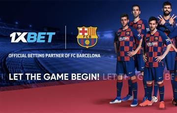 El FC Barcelona incluye a 1XBET como su nuevo socio global