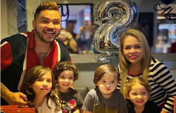 ¡Es divina! Jessi Uribe posó junto a una de sus hijas y enamoró a sus fans