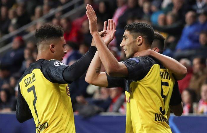Liga de Campeones Resultado partido goles Borussia Dortmund Slavia Praga Champions League