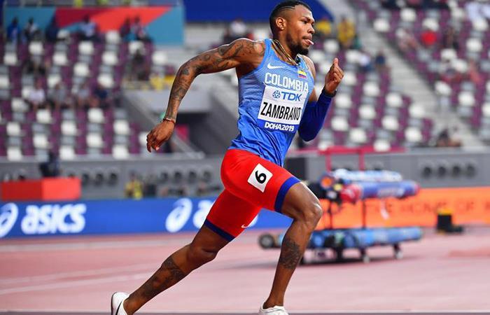 Mundial Atletismo Anthony Zambrano final 400 metros