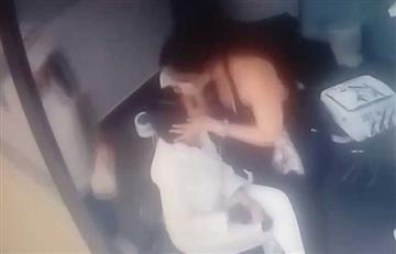 [VIDEO] Así fue el momento en el que Aída Merlano inicia su fuga en Bogotá