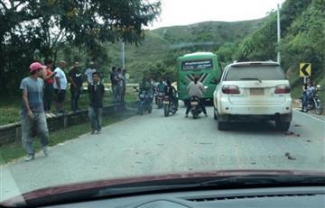 Se 'activan' explosivos en caravana donde iba el comandante de la Segunda División del Ejército