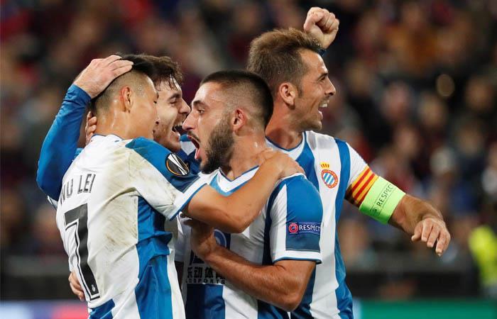 Europa League Resultado partido goles Espanyol CSKA Moscú Bernardo Espinosa