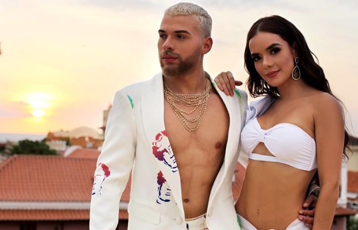Bonfante estrena su cacnión 'Mala fama'. Foto: Instagram