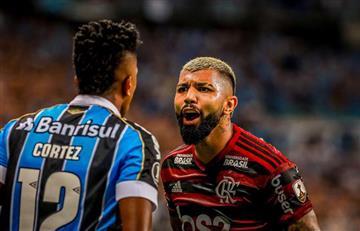 ¡Suspenso! El Flamengo de Orlando Berrío igualó ante Gremio en la semifinal de Libertadores