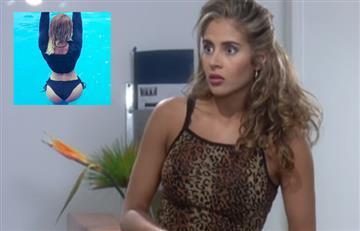[FOTOS] Seductoras imágenes en bikini de Aura María de 'Betty la fea' a sus 42 años
