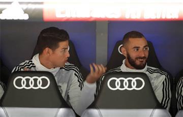 ¡Vuelve y juega! James Rodríguez volvería a ser suplente en Real Madrid