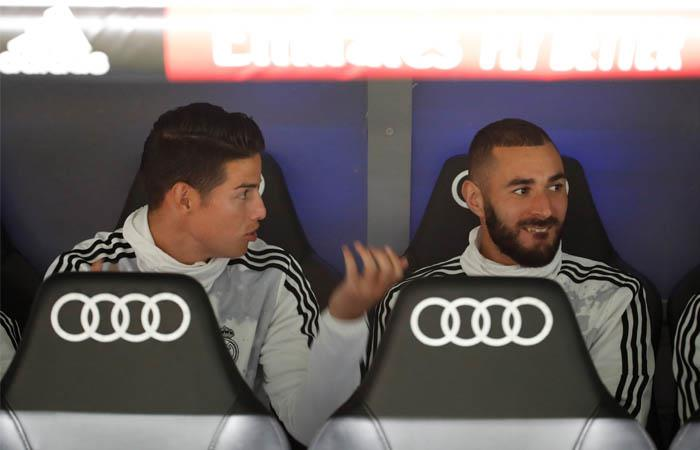 LaLiga James Rodríguez titular Granada Real Madrid