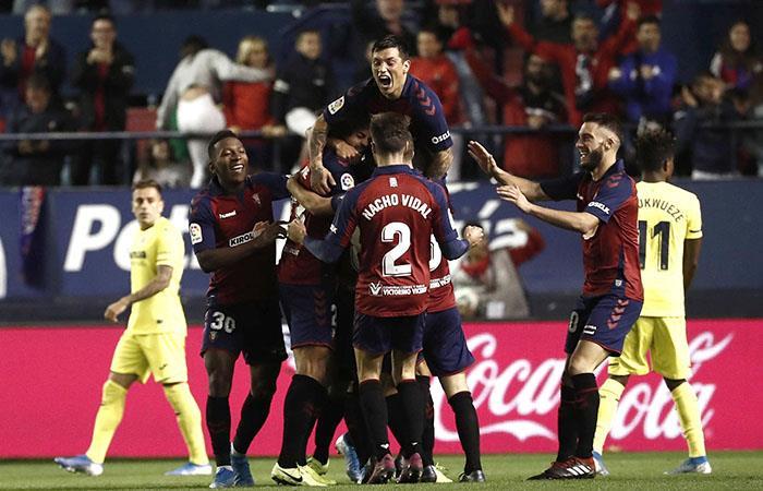Villarreal está a tres puntos de los puestos de Champions League. Foto: EFE