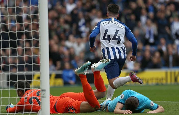 Tottenham encajó 10 goles en contra en dos partidos. Foto: EFE
