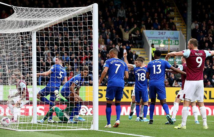 Everton está a un punto de los puestos de descenso. Foto: Twitter @premierleague