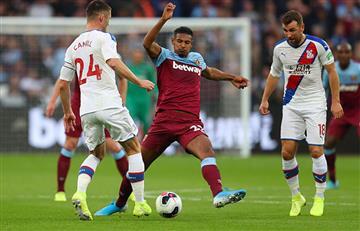 """West Ham de """"La Roca"""" Sánchez cayó ante Crystal Palace y salió de los puestos de Champions"""