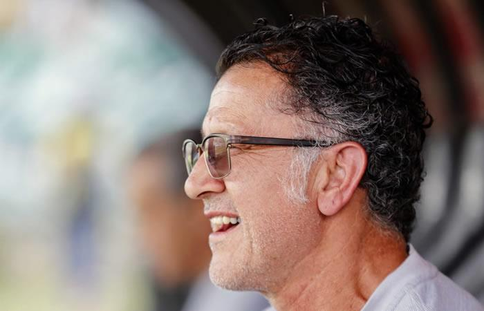 Juan Carlos Osorio es criticado por los hinchas de Nacional -. Foto: Twitter