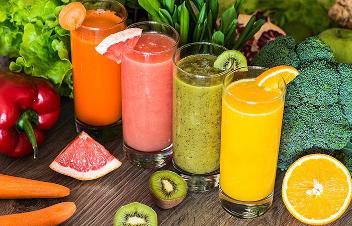 Beneficios y propiedades de los jugos naturales