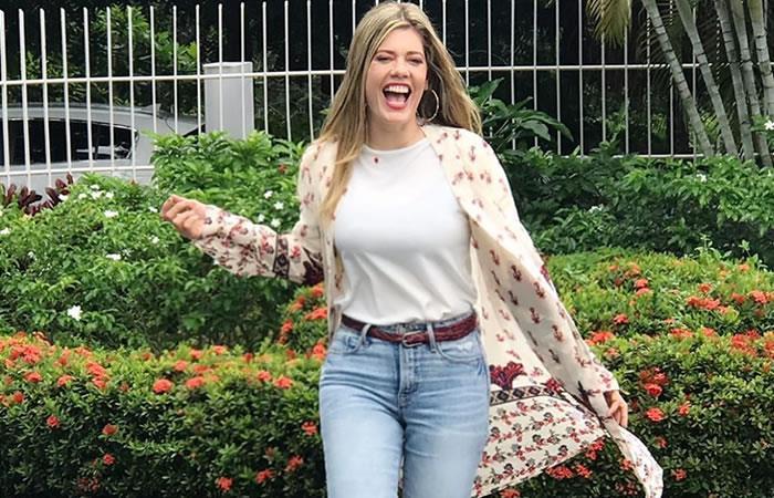 Lorna Cepeda enamora a sus seguidores. Foto: Instagram