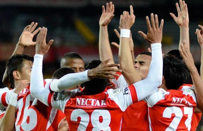Liga Águila II Santa Fe La Equidad Siete victorias consecutivas