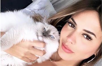 Shannon de Lima revela el motivo por el que no publica fotos con James Rodríguez