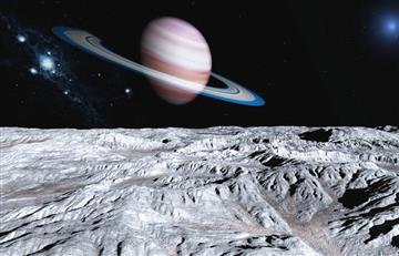 Saturno es el planeta con más satélites en el sistema solar