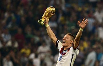 Bastian Schweinsteiger anunció su retiro del fútbol profesional